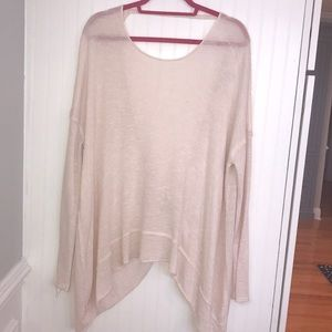 FP twist light pink sweater